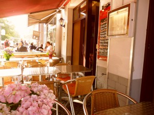 "Restaurant ""Manjurani"" - Strassenflair"